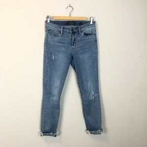 Lucky Brand Ava Legging Distressed Jeans Size 4